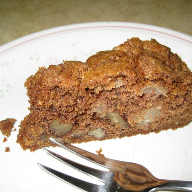 Pear and Pecan Cake, Cake recipes - Gluten Free Land